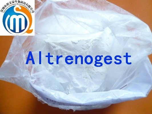 China Altrenogest Progesterone Hormones Powder của bột hơi vàngon sales